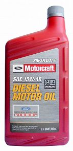 Ford Motorcraft Super Duty Diesel SAE 15W-40